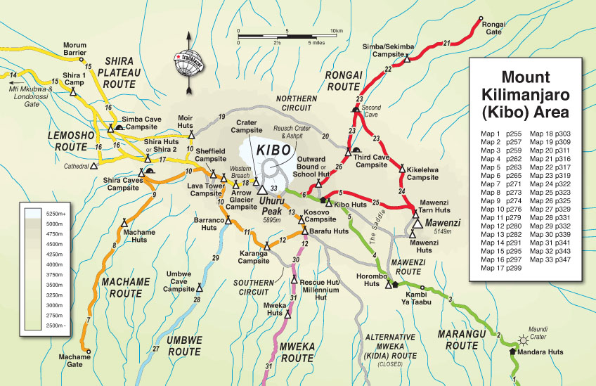 Trailblazer Guide Books – Kilimanjaro - The trekking guide to ...