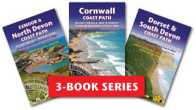 South-West Coast Path Books 1-3